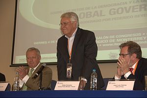 Felipe González - Gonzalez at the Global Governance event at Monterrey Institute of Technology and Higher Education, Mexico City 2012