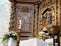 06d Olmos Peñafiel iglesia Santa Engracia retablo Ni.JPG