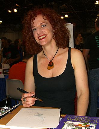 Jill Thompson - Thompson at the 2011 New York Comic Con.