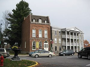 National Register of Historic Places listings in Oneida County, New York - Image: 103 & 105 Main St Boonville NY Nov 09