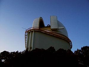 Harlan J. Smith Telescope - Dome at dusk