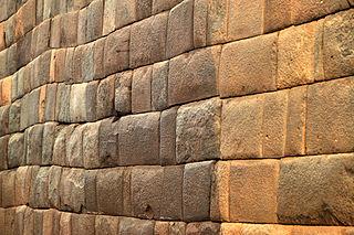 Kallmurad vägg i Cuzco