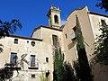 112 Sant Jeroni de la Murtra, façana sud i capella de Sant Sebastià.JPG