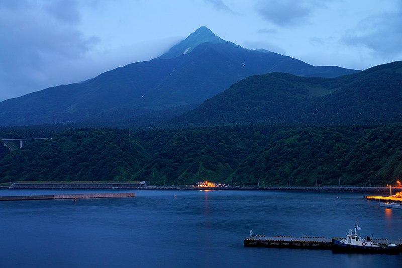 File:130726 Mount Rishiri view from Oshidomari Port in Rishiri Island Hokkaido Japan01s5.jpg