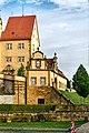 130 Meter über der Stadt Lauchheim liegt Schloss Kapfenburg. 08.jpg