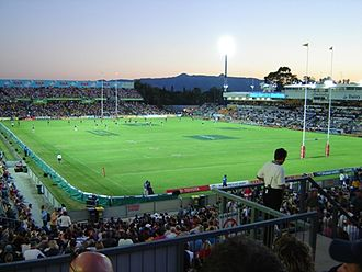 2017 Rugby League World Cup - Image: 14 05 2005 dairy farmers at dusk