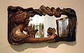 148 Marc d'un mirall amb noia i lliris, de Pau Gargallo.jpg
