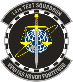 14th Test Squadron - 14th Test Squadron Insignia