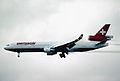 157ac - Swissair MD-11, HB-IWA@ZRH,26.10.2001 - Flickr - Aero Icarus.jpg