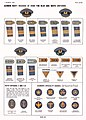 16 article-hdbk-TM-E-30-451 Page 892 Handbook on German military forces US War Dep March 1945--XVI Navy WW2 Rank insignia Blue White Uniforms shoulder strap cuff stripes visors speciality badges chevrons. No copyright. Contrast.jpg
