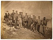17th Regiment of Foot officers 1855