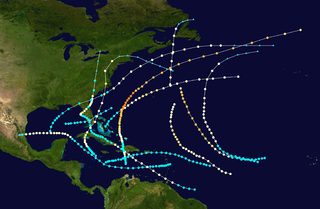 1878 Atlantic hurricane season hurricane season in the Atlantic Ocean