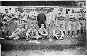 1884 New York Gothams season - 1884 New York Gothams team photo