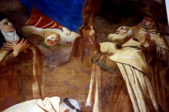 Antonio Barbalonga - Madonna and Carmelite saints by Antonio Barbalonga