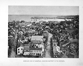 Annapolis, Maryland - 1896 Annapolis view