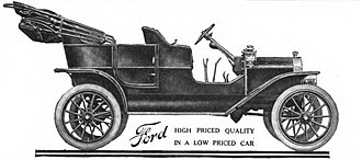 1908 in the United States - September 27: The first Ford Model T.