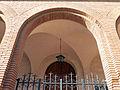 191 Sant Pere de Gavà, detall del porxo de la façana sud.JPG