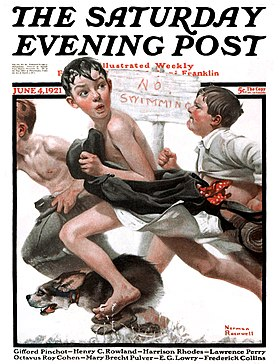 Image illustrative de l'article The Saturday Evening Post