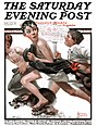 1921-6-4 No Swimming - Norman Rockwell.jpg
