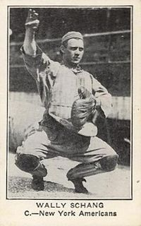 Wally Schang American baseball player