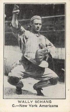 1922 American Caramel Wally Schang