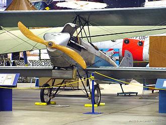 Scimitar propeller - Scimitar propeller on a 1926 Alexander Eaglerock