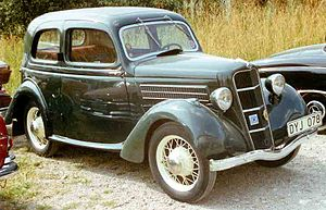Ford Model C Ten - Image: 1936 Ford Model C Junior De Luxe Tudor Saloon DYJ078