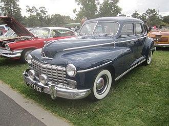 Dodge Custom - Image: 1948 Dodge Custom Sedan (2)