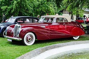 """Daimler Company - Image: 1949 Daimler DE 36 """"Green Goddess"""", Hooper drophead coupé 8853058256"""