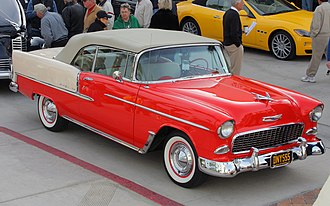 Chevrolet Bel Air - 1955 Chevrolet Bel Air convertible