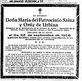 1956-09-25-Maria-del-Patrocinio-Sainz-Ortiz-de-Urbina-esquela.jpg