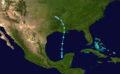 1956 Atlantic tropical storm 2 track.png