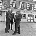 1957 Visite du ministre de l'agriculture Mr ANDRE DULIN au CNRZ-4-cliche Jean Joseph Weber.jpg