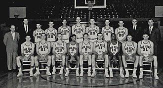 Ohio State Buckeyes men's basketball - The Buckeyes' 1960 national championship team.