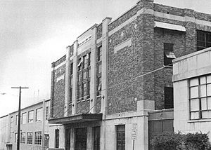 William Allen High School - The Little Palestra building, opened in 1930 along with the Annex.