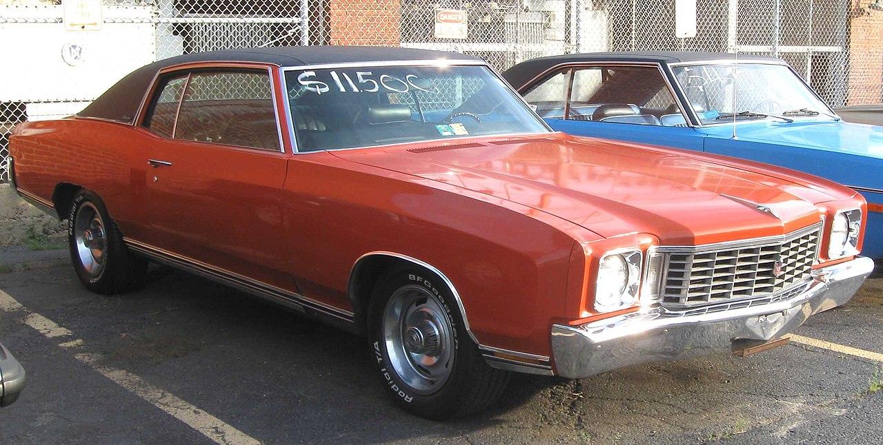 File1972 Chevrolet Monte Carlo  07222010jpg  Wikimedia Commons
