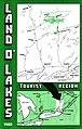 1980 Land O' Lakes Tourist Association Map Cover (15119784982).jpg