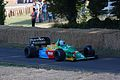 1988 Benetton-Ford B188 Goodwood, 2009.JPG
