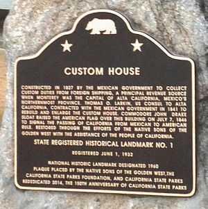 Old Customhouse (Monterey, California) - Image: 1Custom House