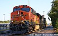 1 2 BNSF 7533 Leads EB Power Move Olathe, KS 9-22-17 (37247882042).jpg