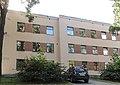 2-й Муринский проспект, 35. Здание поликлиники и детской консультации. Левый боковой фасад здания 2.jpg