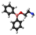 2-Aminoethoxydiphenyl borate 3D ball.png
