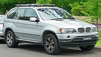 BMW X5 - Pre-facelift BMW X5