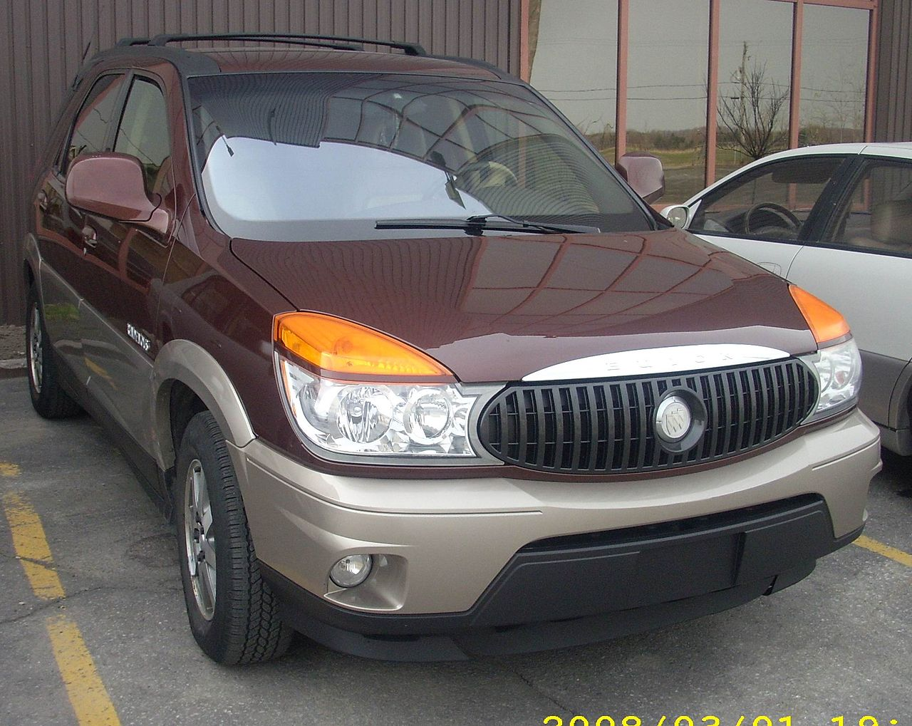 file 2002 03 buick rendezvous jpg wikimedia commons. Black Bedroom Furniture Sets. Home Design Ideas