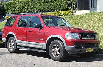 2006 Ford Explorer Xlt >> Ford Explorer - Wikipedia