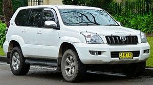 Sichuan FAW Toyota Motor - Image: 2005 Toyota Land Cruiser Prado (KZJ120R) GXL wagon (2011 06 15) 01