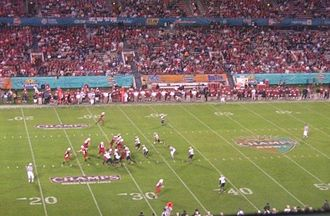 Camping World Bowl - The 2006 matchup featured the Maryland Terrapins and the Purdue Boilermakers
