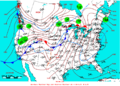 2007-01-11 Surface Weather Map NOAA.png