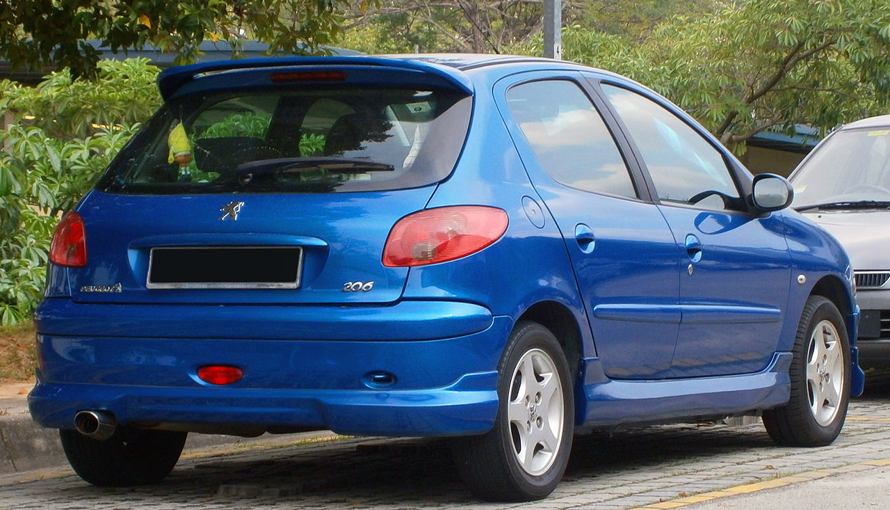 file 2008 peugeot 206 5 door in cyberjaya malaysia 02 jpg wikimedia commons. Black Bedroom Furniture Sets. Home Design Ideas