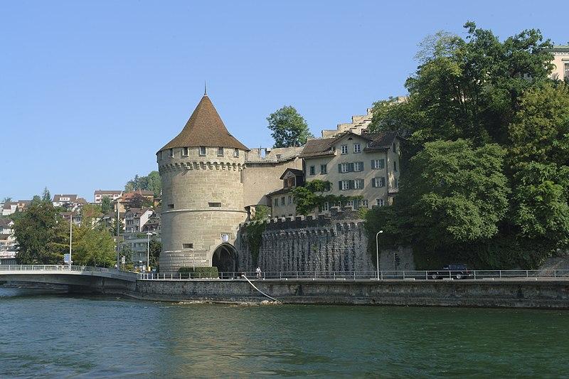 Municípios nos arredores de Zurique